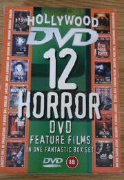 12 Horror DVD Features Films Box Set