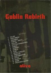 Goblin Rebirth Alive – BOX SET (2CD+DVD+postcards) Ltd. Ed.