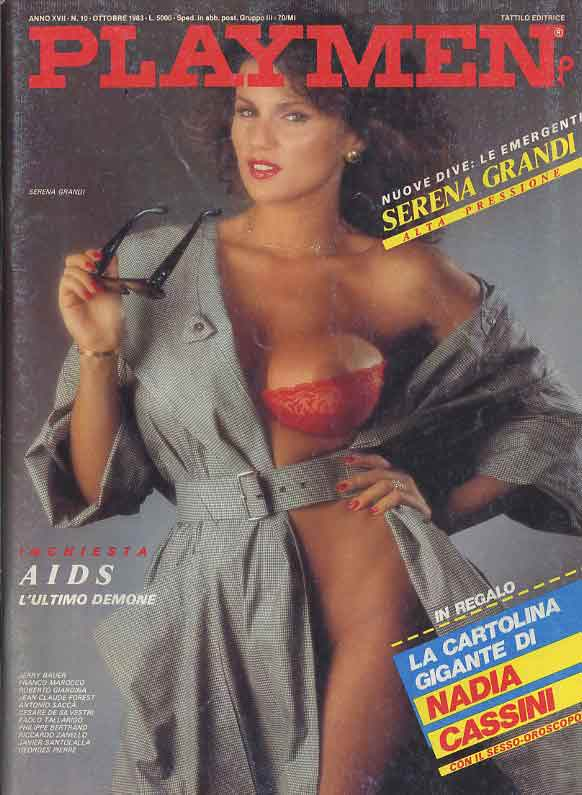 Serena Grandi Calendario.Playmen 1983 Ottobre Serena Grandi Bloodbuster