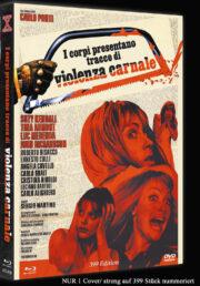 Corpi presentano tracce di violenza carnale, I [Blu-Ray + DVD] Limited 399 Mediabook