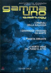 Gamma uno quadrilogy (I criminali della galassia + I diafanoidi vengono da Marte  + Il pianeta errante + La morte viene dal pianeta Aytin) (4 DVD)