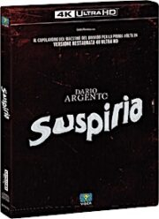Suspiria (Versione Restaurata) – Limited Edition (UHD 4K+Blu-Ray+Cd)