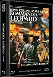 Commando Leopard [Blu-ray+ DVD] Mediabook LTD 1000