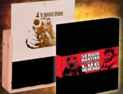 Sergio Martino & Luc Merenda CRIME COLLECTOR'S BOX + Enzo G. Castellari – Il Bianco Spara! (autobiografia) LTD ED. 100 COPIES WOOD BOX SET con autografo