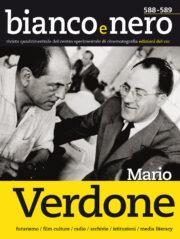 """Mario Verdone (""""Bianco e Nero"""" Vol. 588-589)"""