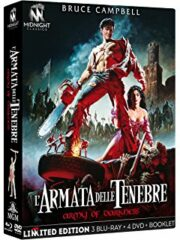 Armata delle tenebre, L' (Limited Edition) 3 Blu-Ray+4 Dvd+Libro