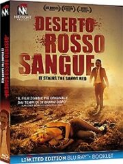 Deserto Rosso Sangue (Ltd Edition) Blu Ray