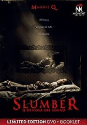 Slumber – Il Demone Del Sonno (LTD) DVD+Booklet