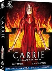 Carrie – Lo Sguardo Di Satana – Limited Edition (3 Blu Ray+Booklet)