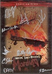 August Underground's MORDUM Limited Numbered Snuff Edition (Signed by Cast & Crew)