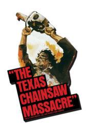 Texas chainsaw massacre Non aprite quella porta ART (MAGNETE 10cm)