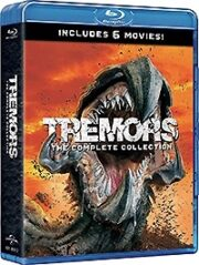 Tremors – The Complete Collection (6 Blu ray)