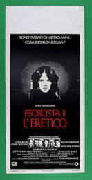 L'esorcista 2 – L'eretico (locandina 35×70)