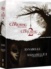 Conjuring / Annabelle Collection (4 Blu Ray)