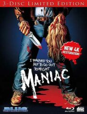 Maniac (3-Disc Ltd: 2BR+CD)