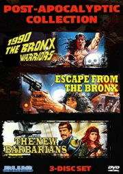 Post- Apocalyptic Collection: 1990 The Bronx Warriors / Escape from the Bronx / The New Barbarians