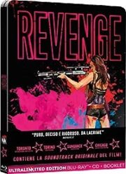 Revenge – Limited Edition SteelBook (Blu-Ray+CD Audio+Booklet)