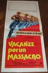Vacanze per un massacro (locandina 35×70)