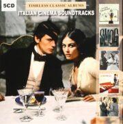 Italian classic soundtracks: Il continente perduto + Smog + Il gattopardo + Il disprezzo + Corleone (5 CD BOX)