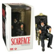 SCARFACE TONY MONTANA IN HIS CHAIR FIGure