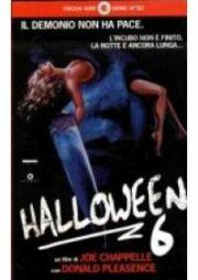 Halloween 6 (VHS)