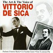 The art & voice of Vittorio De Sica (CD)