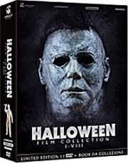 Halloween Film Collection I-VIII Limited Edition (11 Dvd+Booklet)