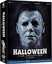 Halloween Film Collection I-VIII Limited Edition (9 Blu Ray+Booklet)