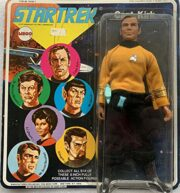 Star Trek: Capt. Kirk – Action Figure by Mego Corp (1974)