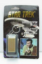 Star Trek communicator key chain