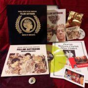 Fellini Satyricon Ultralimited Edition Deluxe Box colored vinyl 99 copies LP