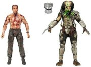 NECA Predator Pack 2 Figurines Final Battle Dutch vs. Predator