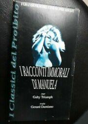 Classici del proibito – I racconti immorali di Manuela (VHS HARD)