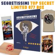 Top secret LIMITED 077 box Segretissimi dizionario dei film spionistici italiani anni 60