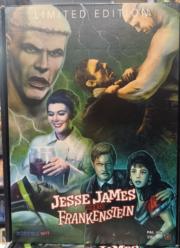 Jesse James meets Frankenstein DVD+VHS Limited 99