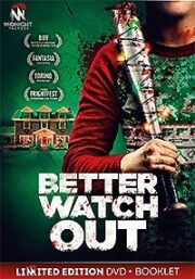 Better Watch Out (DVD+Booklet)