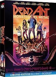 Dead Ant – Monsters Vs. Metal (Blu Ray+Booklet)