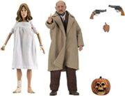 Halloween 2 Dr. Loomis e Laurie Strode 2 figure retro