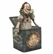 IT 2 GALLERY PENNYWISE JACK IN BOX STATUE