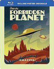 Pianeta Proibito, Il (1956) + Il Robot E Lo Sputnik (1957) + Robot Client (1958) Blu-Ray SteelBook +Poster)