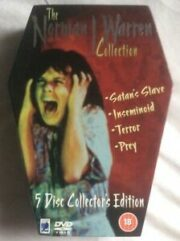The Norman J. Warren Collection (4 DVD – COFFIN BOX)