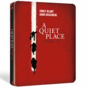 Dal 09/2021 – Quiet Place 2, A (Blu-Ray Uhd+Blu-Ray Steelbook)