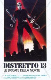 Distretto 13 le brigate della morte (locandina 35×70)