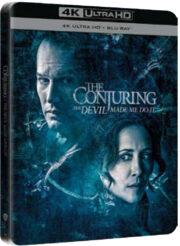 Conjuring 3 Per Ordine Del Diavolo (Steelbook) 4K Ultra Hd + Blu Ray