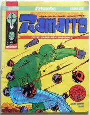 Palumbo – Ramarro, the first masochistic super-hero