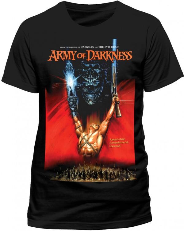 Army of darkness – Poster (L'Armata delle tenebre) T-SHIRT