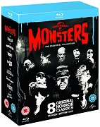 Universal Monsters – The Essential Collection (Ltd Ed) (8 Blu-Ray) (2D + 3D)