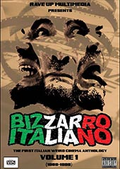 OFFERTA BIZZARRO ITALIANO – 1988-1999 ITALIAN WEIRD CINEMA FROM THE ANALOGIC ERA! (DVD + Fanzine Ltd. ed. 500 pezzi)