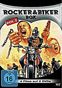 Rocker&Biker vol 02: The Hard Ride + Born Losers + The Mini-skit Mob +  Hell's Angels Forever (2 DVD) - Bloodbuster